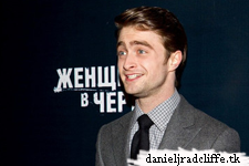 Updated: Daniel Radcliffe attended Moscow premiere of The Woman in Black