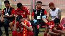 Indosport - Kesedihan di Bench Semen Padang.
