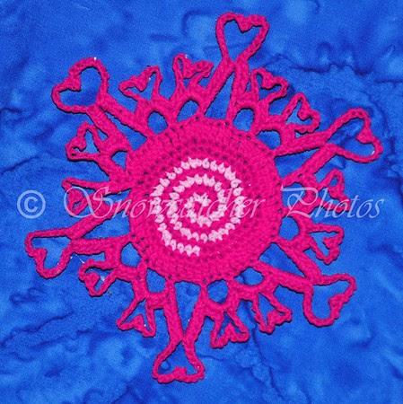 Crazy Spiral Heartflake