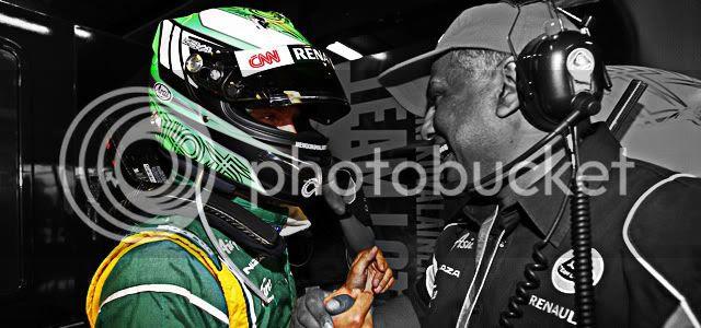 Heikki Kovalainen y Tony Fernandes