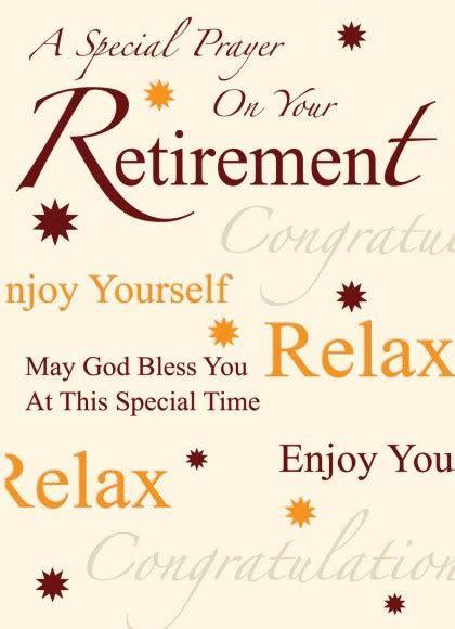 Retirement Blessings