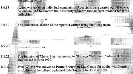Jillings report