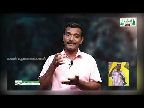 10th Science கரைசல்கள் அலகு 9 பகுதி 1 Kalvi TV
