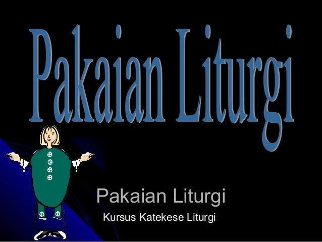 Pakaian liturgi