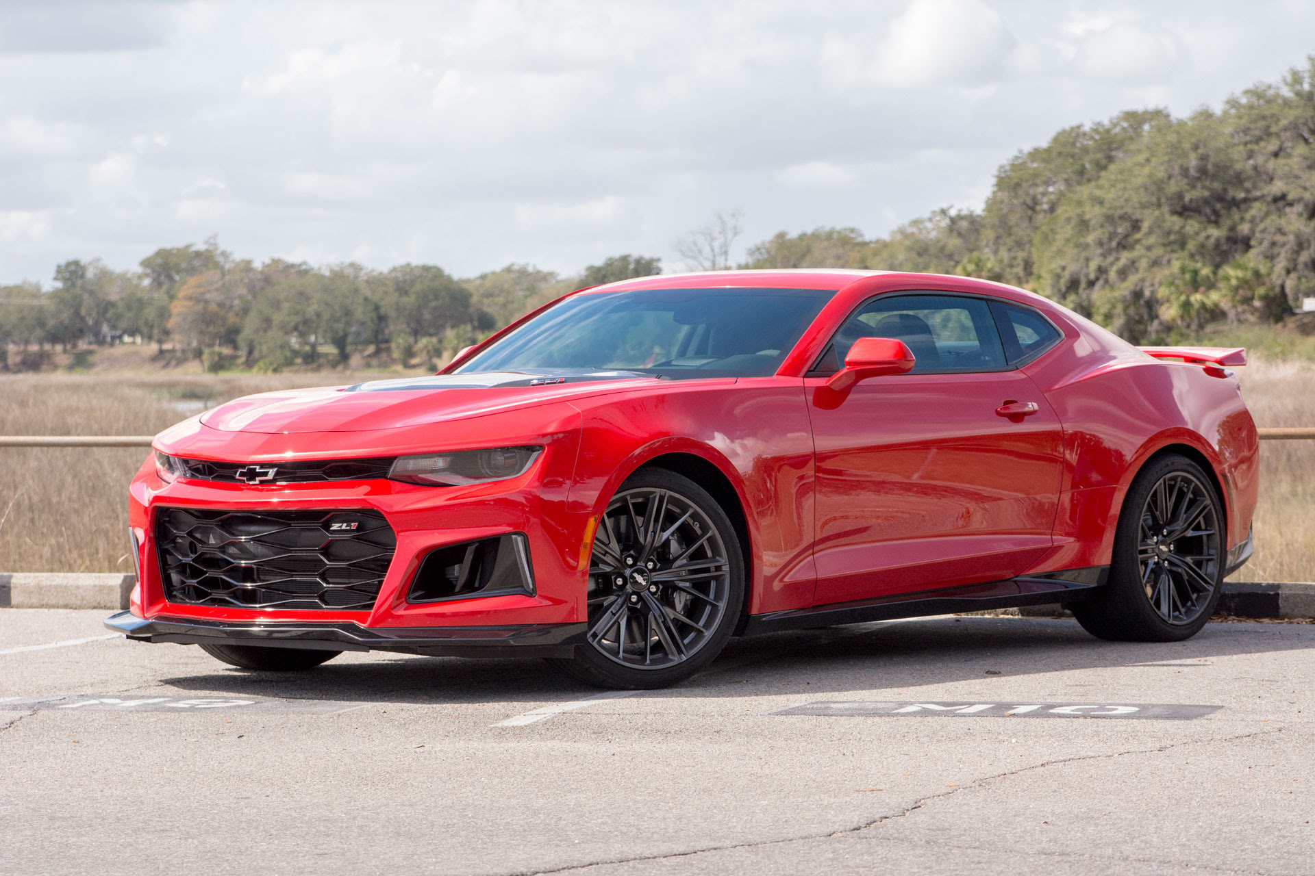 2017 Chevrolet Camaro ZL1 first drive review: too fast to ...