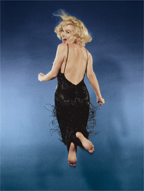 halsman MMonroe color Les sauts de Philippe Halsman  photo photographie featured art