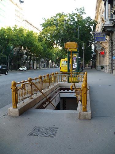 Budapest Subway Entrance 1