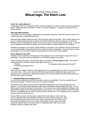 fake miscarriage papers downloads form Fill Online, Printable ...