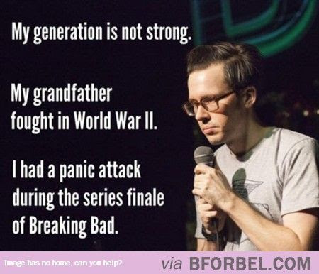 Our Generation Isn't That Strong…