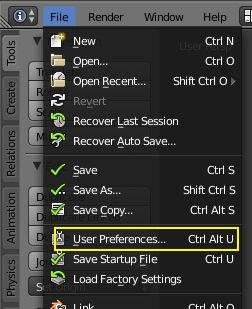 user preferences
