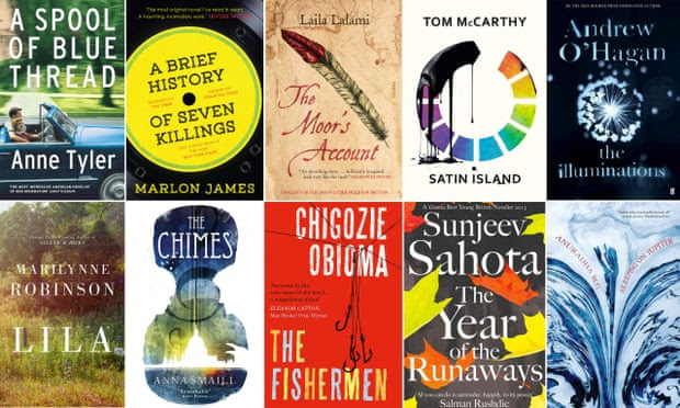 Some of the novels on the Man Booker prize longlist
