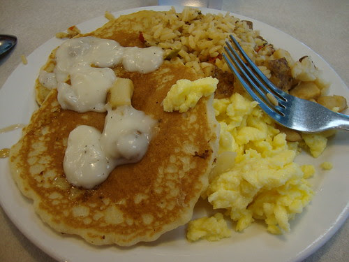Shoney's breakfast buffet for lunch