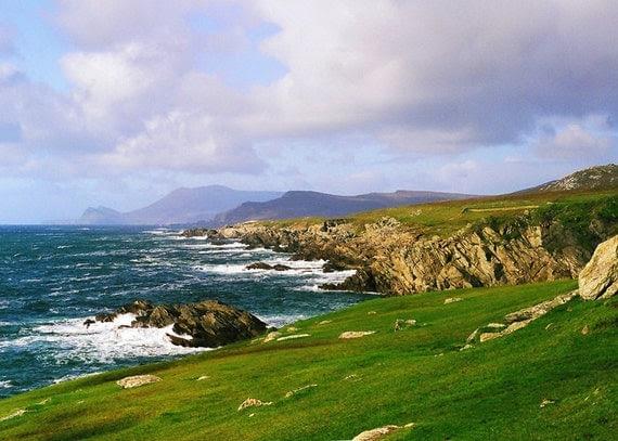 Ireland Photography Landscape Achill Island Atlantic Coast 5 x 7 Wall Art Photograph