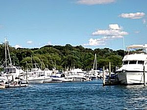 Long Island harbor
