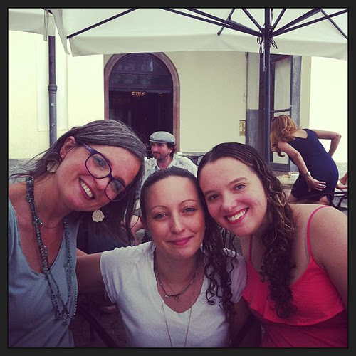 With international knitting friends in Torino :)
