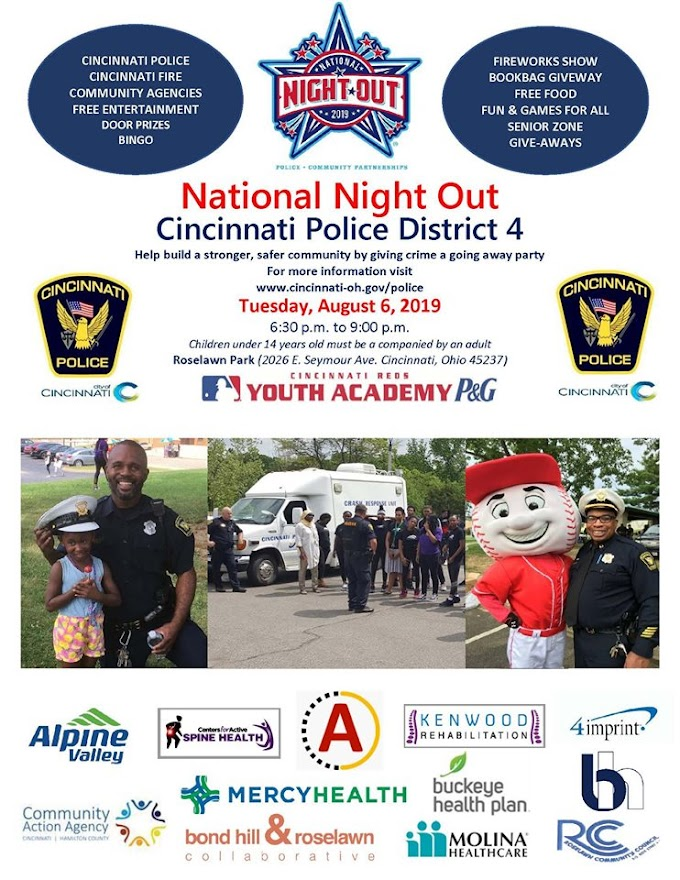 2019 National Night Out - August 06, 2019