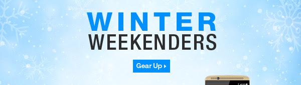 Winter Weekenders