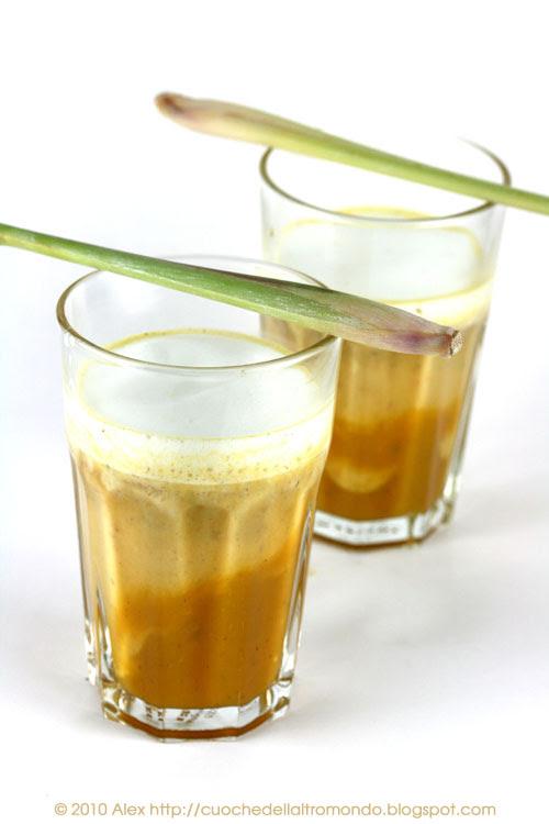 Zuppa di zucca al lemongrass