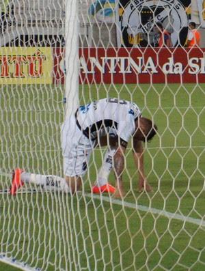 Rafael Oliveira, atacante do ABC (Foto: Augusto Gomes/GloboEsporte.com)