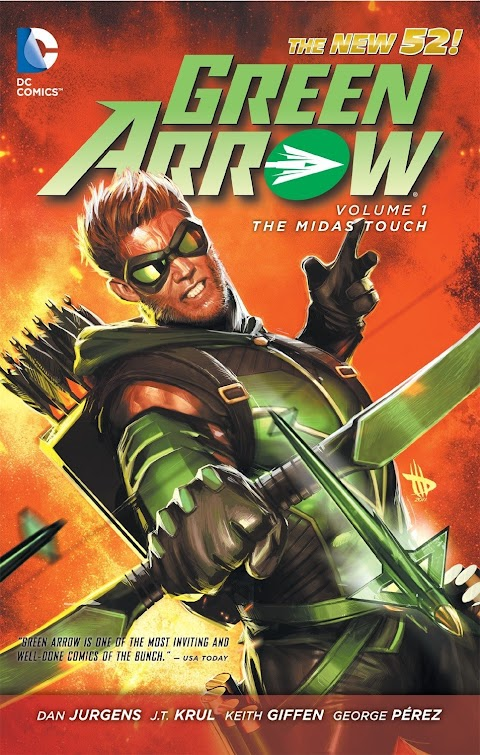 Dc Comics Green Arrow New 52