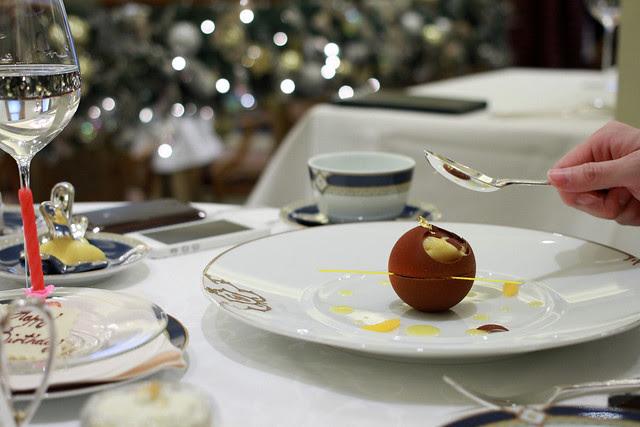 Birthday Lunch 2012 at Gaddi's The Peninsula Hong Kong