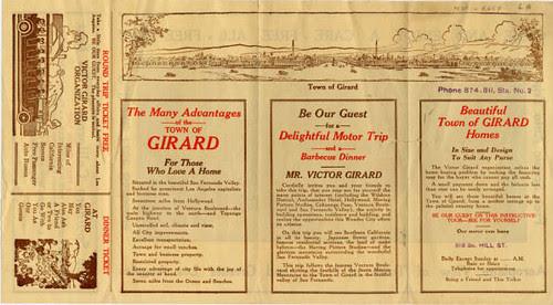 Girard Brochure