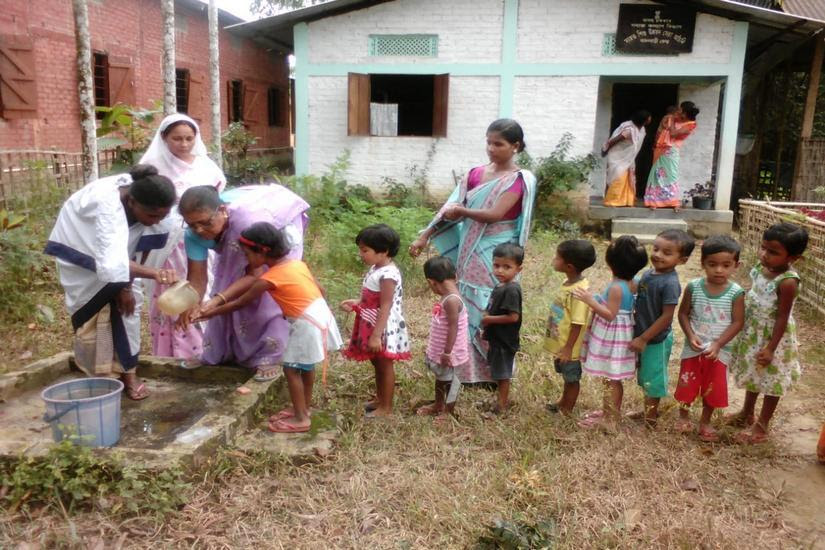 An Anganwadi Centre at a village in Golaghat district . Abhishek Kabra