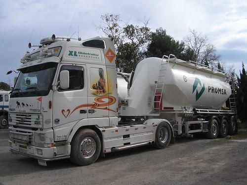 Volvo de transport de morter sec