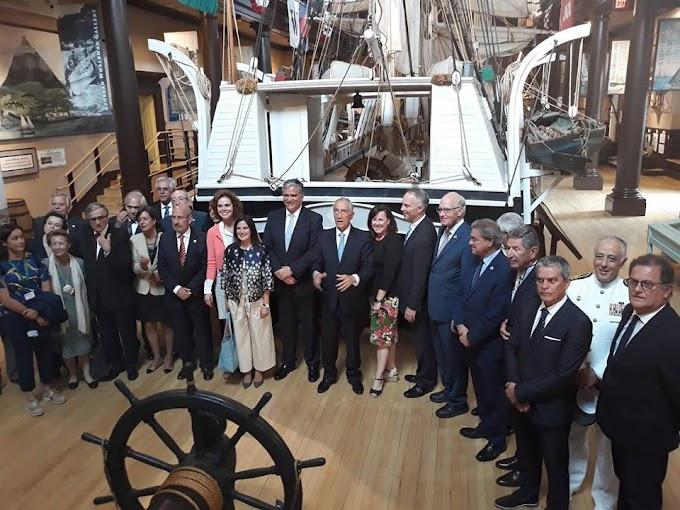 Presidente da Câmara visitou comunidade figueirense em New Bedford e Fall River