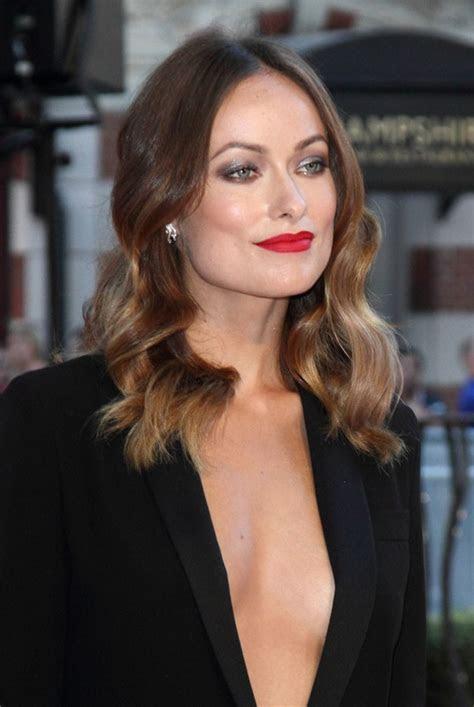 Olivia Wilde?s braless black suit Lainey Gossip Lifestyle