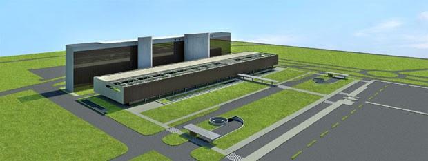 Projeto arquitetônico do Anexo B da Câmara dos Deputados (Foto: Reprodução)
