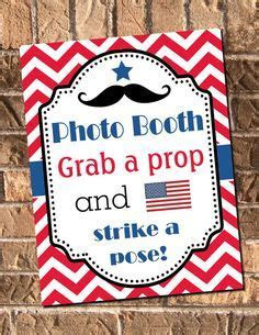 4th of July Party Free Printable Photo Booth props at www