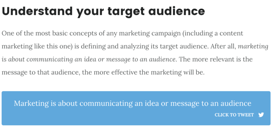 Marketing Campaign - Click to Tweet