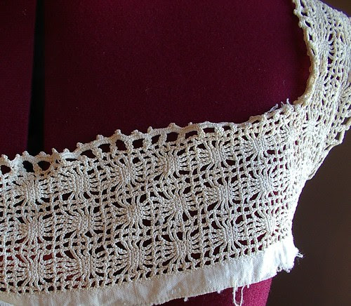 close up of antique yoke