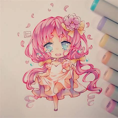 atibuchuan  instagram art chibi kawaii art anime art