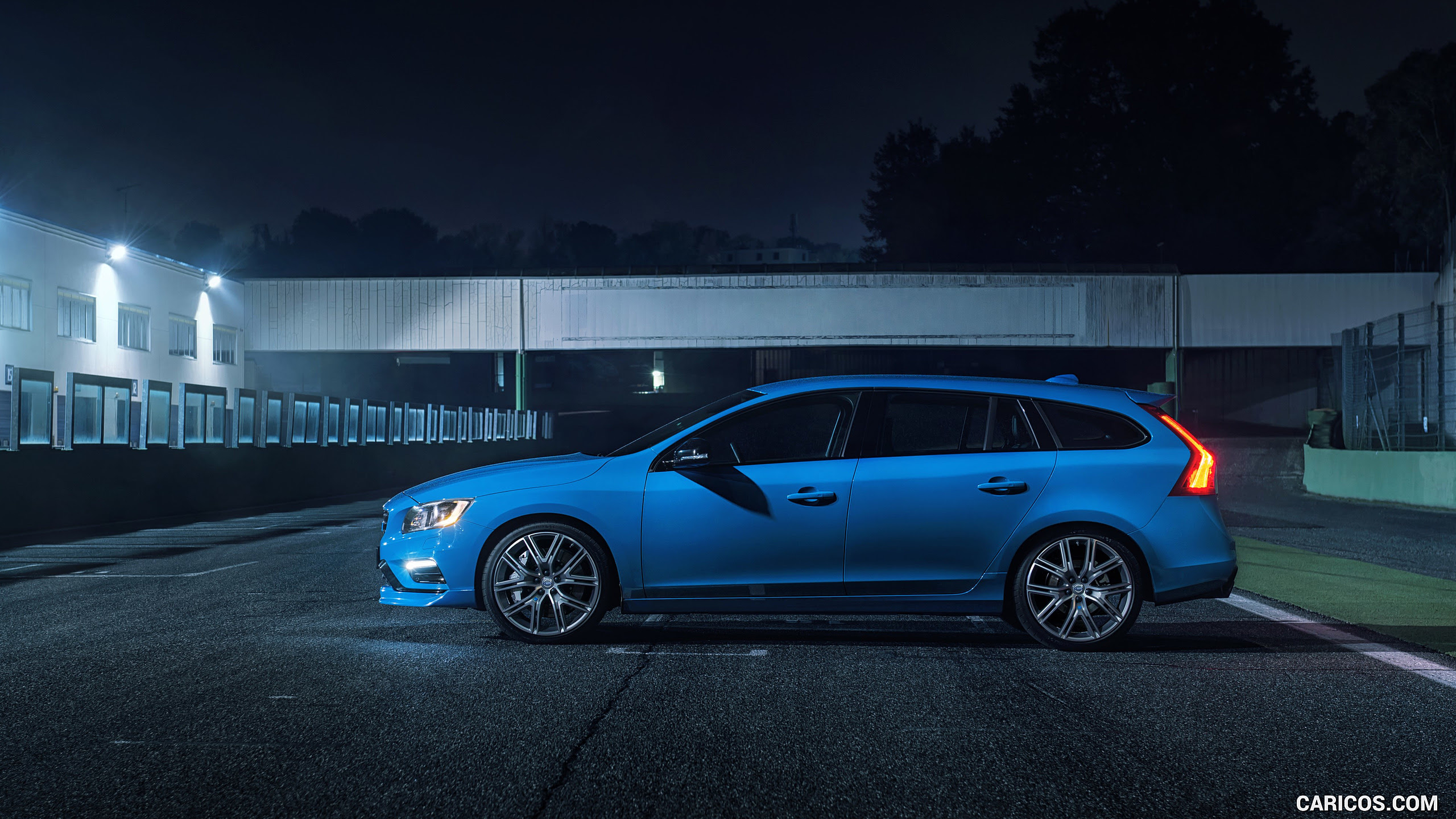 2017 Volvo V60 Polestar  Side  HD Wallpaper 41