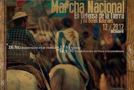Uruguay /Montevideo/ Marcha Nacional en Defensa de la Tierra y de los Bienes Naturales / 11 de Octubre 2012 | MOVUS | Scoop.it