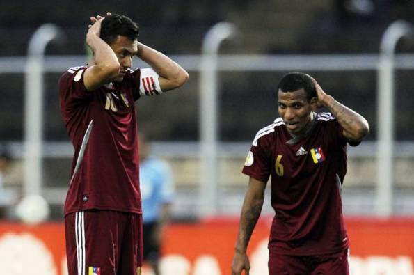 VENEZUELA 1 - PARAGUAY 1