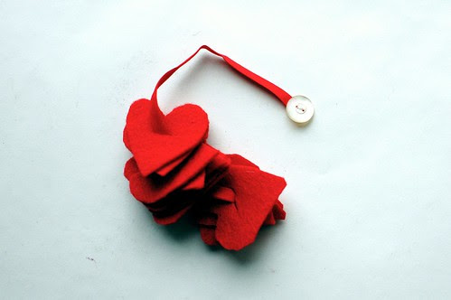 Valentine's Day Buttoning Ribbons