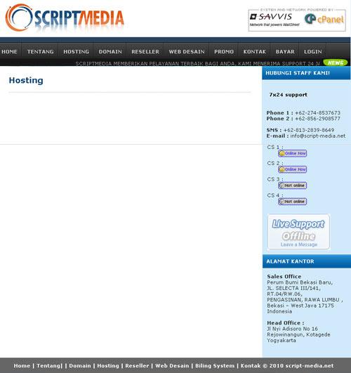 Membuat Layout Website Dengan Css Script Media Indonesia