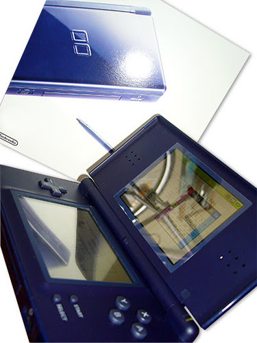 Nintendo DS Lite Close Up