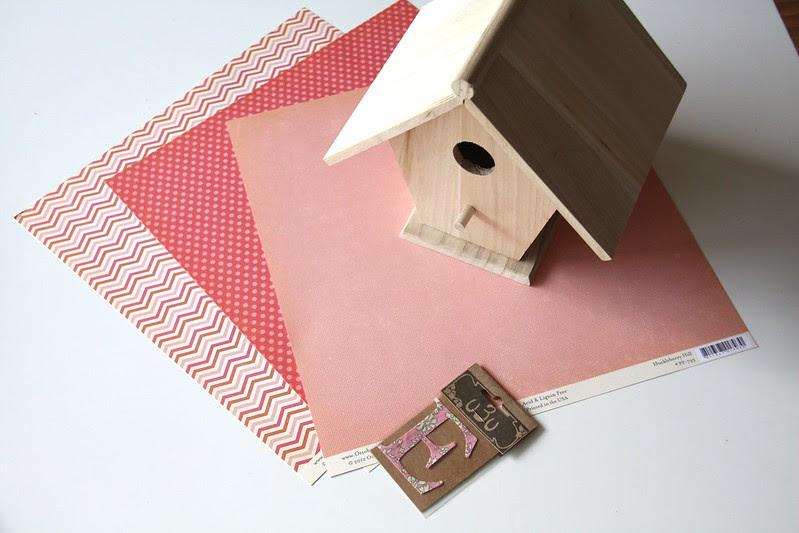 material birdhouse
