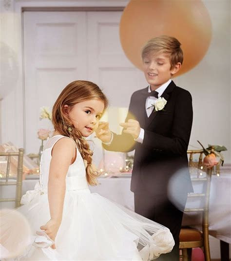 Flower girl dresses & page boy outfits