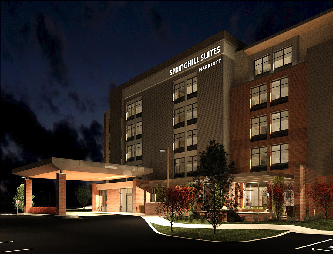 Bma Architecture Springhill Suites By Marriott Exton Pa