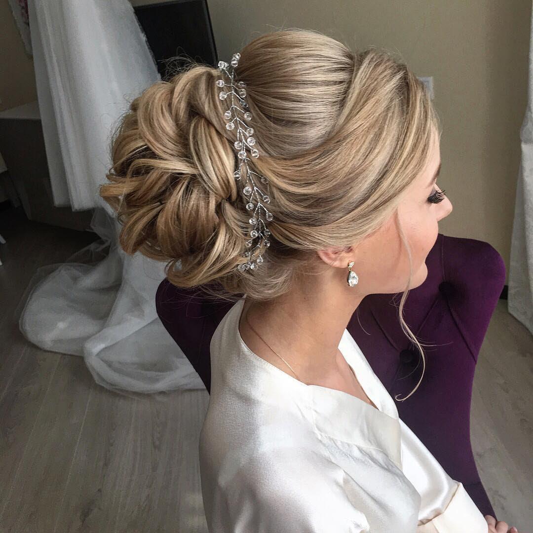 Hairstyles For Beautiful Wedding 10 Lavish Wedding