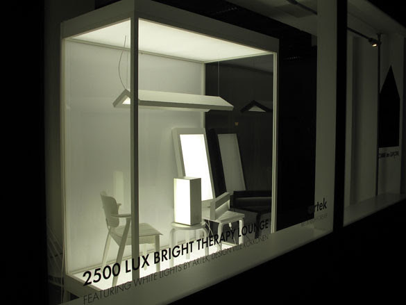 04 In Dover Street Market, Finnish brand Artek unveiled its new White collection of lighting products by Ville Kokkonen