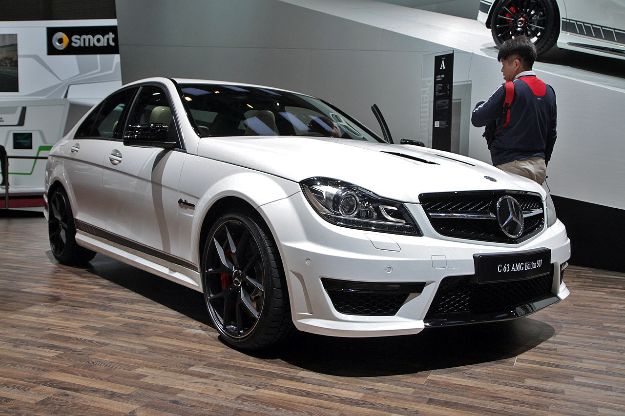 2014 Mercedes-Benz C63 AMG Edition 507 still lights our ...