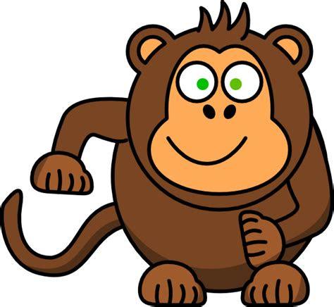 animasi monyet clipart