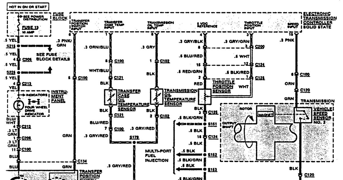 2000 Isuzu Rodeo Fuse Box Diagram