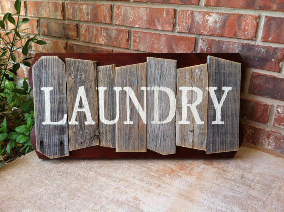 Wall / sign / / All Decor laundry Novelty  rustic Signs Products Home Decor